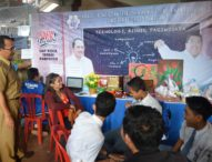 STIKOM Bali Ramaikan  Pameran Pendidikan di Singaraja