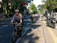 Polres Klungkung Patroli Bersepeda Menjaga Keamanan