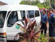 Dibawa Melayat,  Mobil  RSUD Tabanan Terbakar