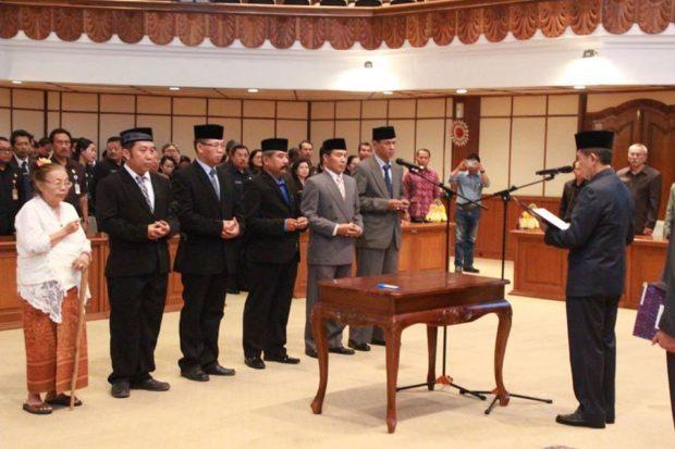 Dosen STIKOM Bali Dilantik Jadi Anggota Komisi Informasi Daerah Bali