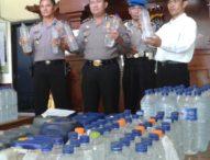 Ratusan Liter Arak Diberangus