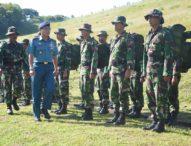 Di Grokgak, Tentara Bangun Jalan 1,1 Km