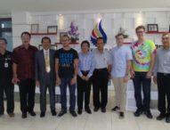 Dalami Teknologi Informasi dan Seni, Mahasiswa Perancis Internship di STIKOM Bali