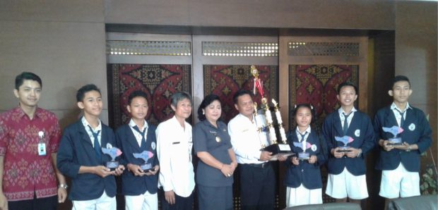 SMK TI Bali Global Karangasem Sukseskan TIK-Kar Competition I Tahun 2016