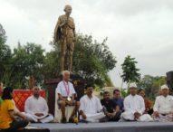 Gandhi Park Hadir di Taman Gong Perdamaian