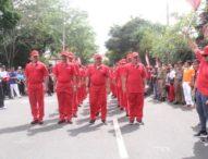 Regu Pejabat ikut Gerak Jalan