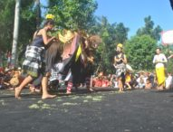 Sambut HUT Ke-71 RI, Desa Bongan Gelar Parade Budaya