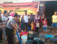 Warga Kupang Kesulitan Air, Polda NTT Turun Tangan