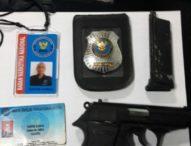 Bawa Airsoft Gun, Relawan BNN Diamankan Polisi