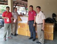 Sepuluh Box Daging Ayam Ilegal Diamankan Polisi