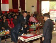 Johanna Lisapaly Penjabat Walikota Kupang- Jonas Minta Bimbingan Gubernur