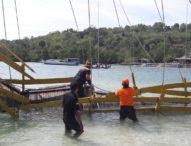 Polda Bali Back Up Polres Klungkung, Selidiki Runtuhnya Jembatan Kuning
