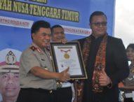 Luncurkan Pelayanan SIM Apung, Polda NTT Raih Rekor Muri