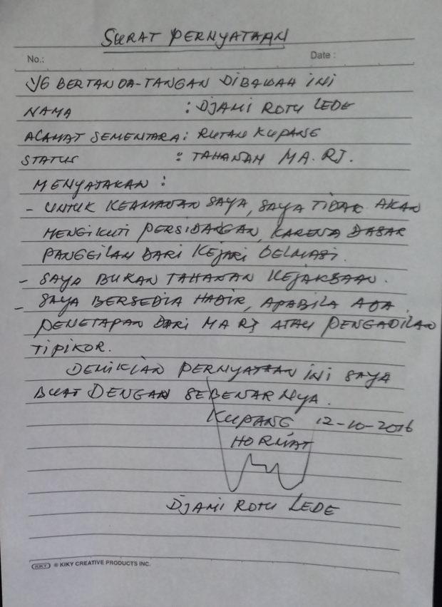 JPU Gagal Hadirkan DRL, Kuasa Hukum Ragukan Surat Pernyataan