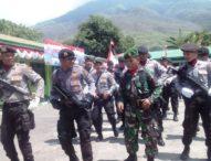 HUT Ke-71 di Larantuka,  Polisi dan Tentara Unjuk Kemesrahan