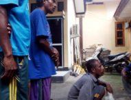Tiga Pengebom Ikan Asal Desa Sagu di Bekuk Pospol Tanjung Bunga