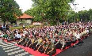 Doa bersama masyarakat Buleleng untuk Nusantara Bersatu