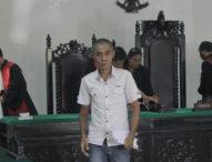 Gabriel Fernandez Divonis 2 Tahun 10 Bulan Penjara