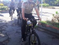 Sosialisasi Bahaya Narkoba dan Geng Motor, Polisi Sabhara Patroli Sepeda