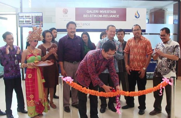 Reliance Buka Galeri Investasi di STIKOM Bali