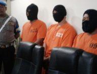 Tiga Anggota Ormas Dibekuk-Terlibat Keroyok dan Tusuk Polisi