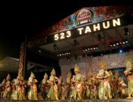 Semarak Malam Puncak HUT Kota Tabanan Ke-523