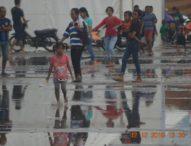 Hujan Sejam Lokasi Harnus Becek