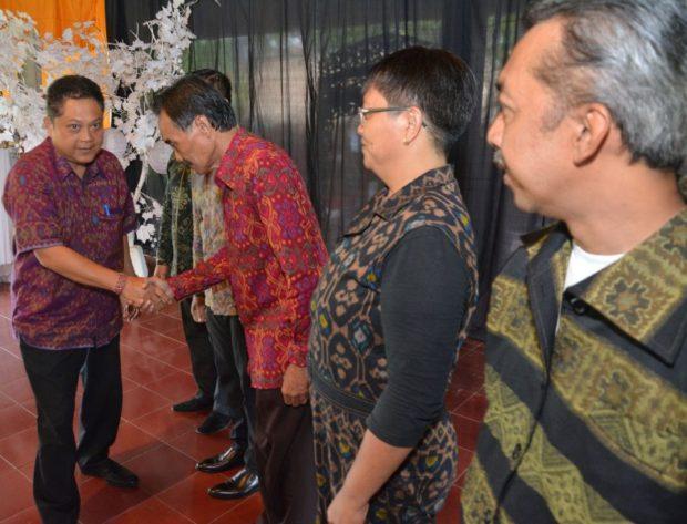 Rai MantraKukuhkanBadan Kreatif Denpasar