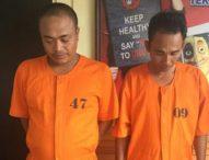 Tangkap Dua Pengedar, Satu Orang Security Ngaku Nyambi Karena Gajinya Kecil