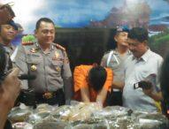 Sambut Tahun Baru, Ganja 8 Kg dari Sumatera Diamankan Petugas