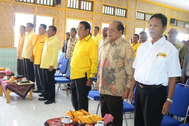 Medah Minta Pilih Gubernur Yang Petani – Bintang Pimpin Golkar Sumba Tengah, Bili di Sumba Barat