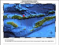 Gempa 4,6 SR Guncang Ende, Tak Berpotensi Tsunami
