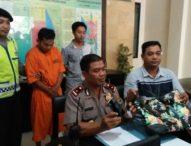 Tukang Ojek Nyambi Jambret di Kuta Ditangkap
