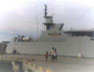 KRI Terapang, Kapal Canggih Buatan Anak Negeri Tiba di Lewoleba