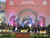 Presiden Jokowi Janji Perjuangkan Pencak Silat Masuk Cabang di Oliampiade