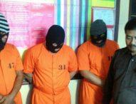 Polisi Ringkus Tiga Penempel Sabu