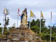 Damai Natal di Bukit Taman Doa Yesus Maria Oebelo