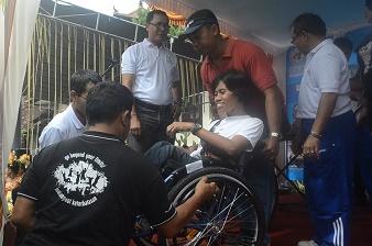 Sambut Hari Disabilitas, Ratusan Anak-anak PSBN Mahatmiya Ikut Jalan Santai