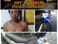 Polisi Bekuk Pelaku Curanmor di Pasar Bajera