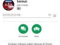 Ayo Dapatkan Aplikasi Bereun di Play Store