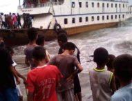 Dihantam Gelombang, KM Semua Suka Berlabuh Darurat di Pantai Longot