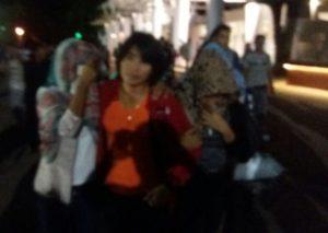 Satu dari empat korban human trafficking didampingi polisitiba di Kupang