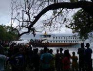 Berlabuh Darurat di Pantai Longot, Lambung KM Semua Suka Bocor