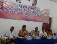 Pleno Rekapitulasi Pilwalkot Kupang, Mantan Anggota DPR RI Unggul
