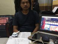 Modus Pengecer, Dua Pengepul Judi Togel Online Ditangkap Petugas