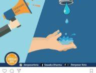 Air PDAM Kota Denpasar Kembali Mati Total