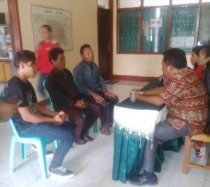 Ketiga warga Pemalang menghadap Dinas Sosial Sikka