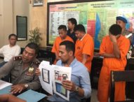 Tangkap Tiga Pelaku Curat Lintas Negara, Polisi Tembakan Timah Panas
