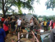 Tabrakan Maut Dump Truck Renggut Nyawa Pemilik Kios