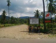 Akses Jalan Menuju Waduk Napung Gete Diperlebar